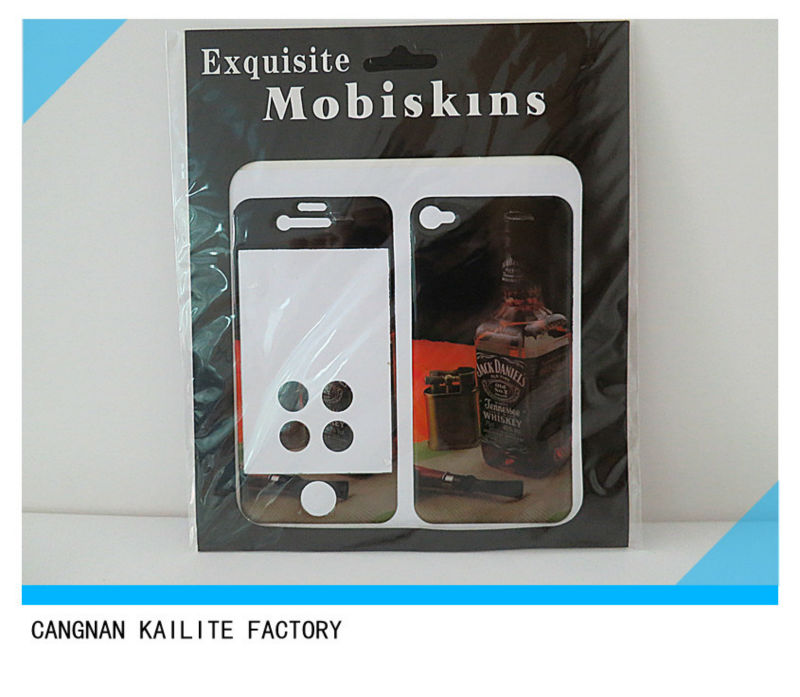 Epoxy sticker for Iphone 4 4S 5 5S