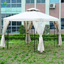 10x10 commercial waterproof canopy wall steel frame folding tent gazebo