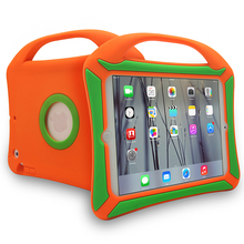 Hot Sell Kids Handle Protective Cover Drop Resistant Silicone Case For iPad Mini 1 2 3 4