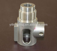 SS316 valve part silica sol process investment castings stainless steel castings precision castings
