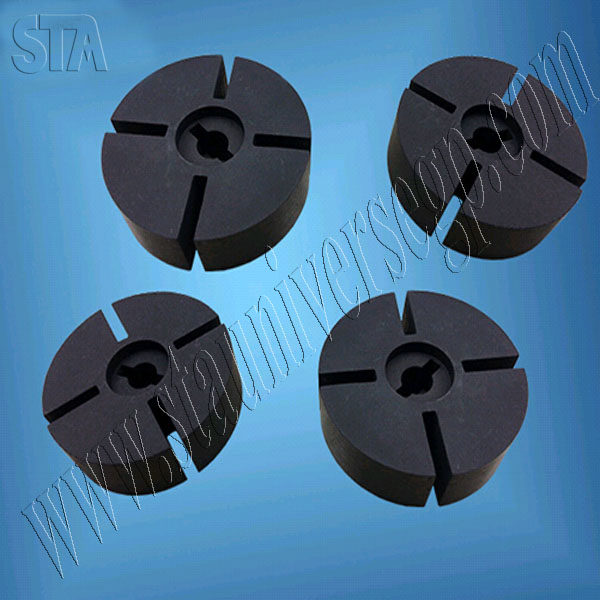 STA high quality anti-oxidation alumina degassing graphite rotor,graphite impeller