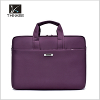 laptop bag custom purple business women laptop bag