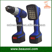 14.4V Cordless Li-ion battery drill with GS,CE,EMC certificate
