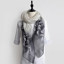 2017 wholesale organza bubble plain silk chiffon scarf women embroidery pashmina indian silk scarves and shawls