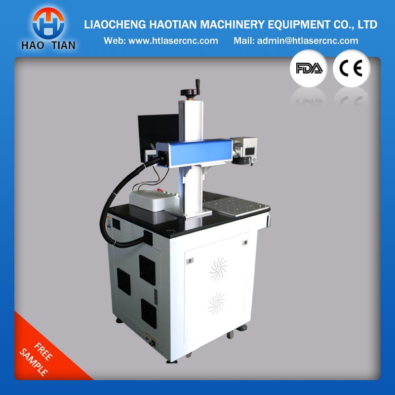 thermoplastic road fiber marking machine 10w 20w 30w for both metal nonmetal liaocheng haotian ,manufacture