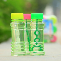 2016 Kidseason Outdoor Soap Bubble Toys/Bubble Blower/Transparent Bubble Bottle Water