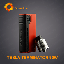 Tesla Mechanical Mod Available Now!Teslacigs Terminator 90w Box Mod Electronic Cigarette free sample