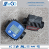 Hot sale different medium oval gear flow meter indicator Controller