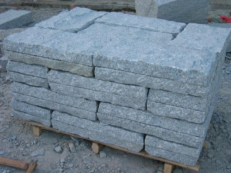 Granite Blocks Product : Silver grey granite block paving buy for