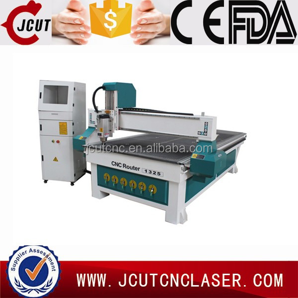 Vacuum table/dust collector 1325 wood cnc router for door design marking machine