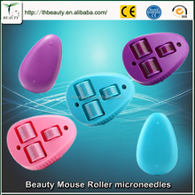 2016 new beauty mouse derma roller for Arms, legs, thighs, buttocks, stomach, back massage