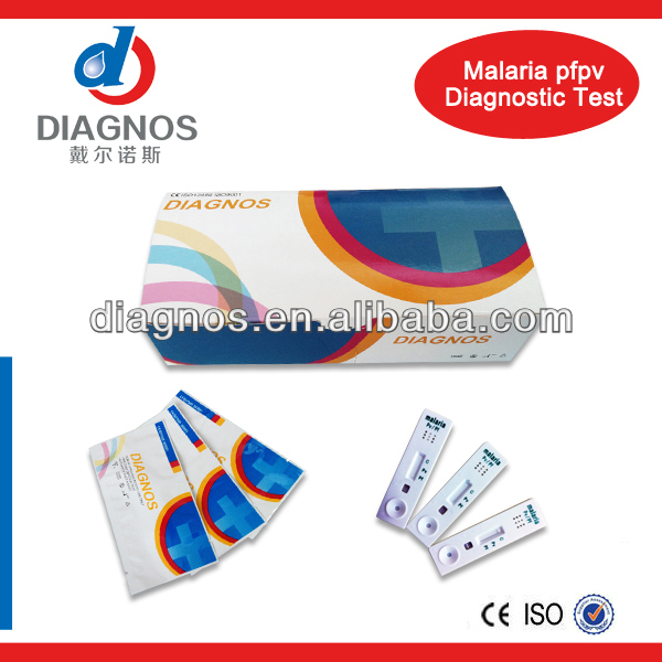 Hotsale!Malaria pf/pv Rapid Test Kit/one step test device/test strip,cassette/home use/factory made/cheap price
