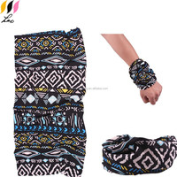 Lastest Hot Sale Fashionable Knitted Polyester Tube Hairband Multi Headband Seamless Tube Bandanas