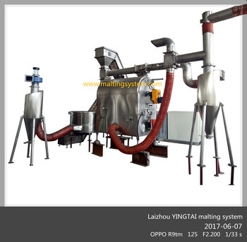 YINGTAI Craft malt roasting system line