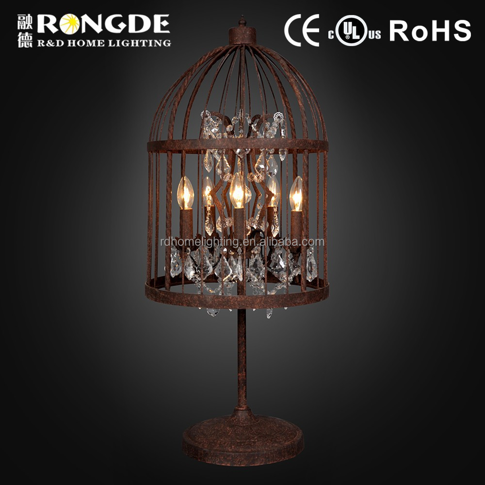 Classical Style antique lamp shades/ decorative table lamps