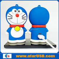 3D doraemon portable power bank for iphone, smartphone, mp3 ect.