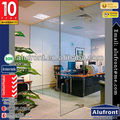 aluminium framed glass walls Office Partitioning System Glass walls partitions for office