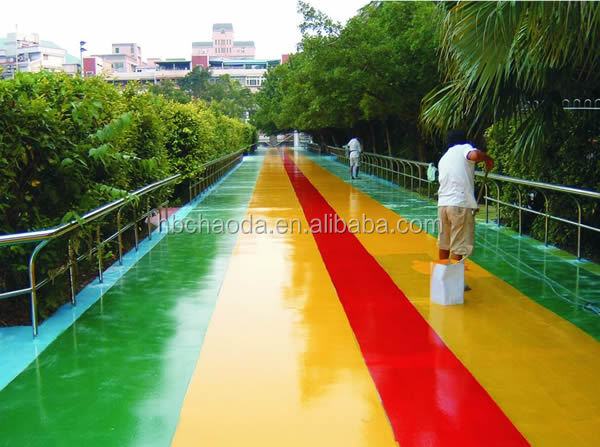 Swimming pool constructing asphalt based polyurethane waterproof building materials