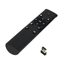 Factory price FM4 Universal remote control 2.4GHz wireless airmouse keyboard for android tv