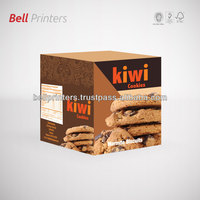Chocolate cream biscuit box outer paper printing from India