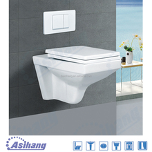China factory italian wash down wall hung toilet