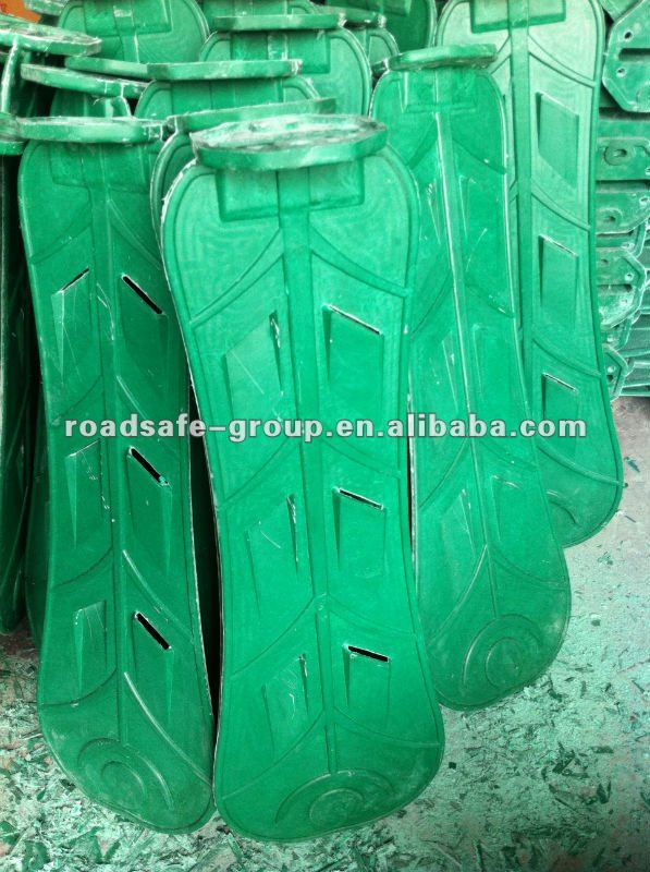 SMC Trafiic security facilities Green plastic Anti glare anti dazzle shield with long lifespan