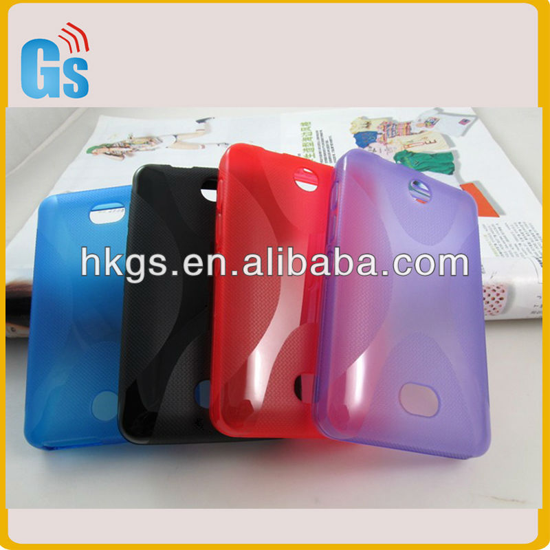 New arrival Tpu gel x line case protection shell cover For Nokia Asha 501
