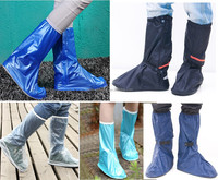 Hot Sale 2015 Outdoor PVC Rain Boots Cover Waterproof Shoe Covers, high heel shoe cover