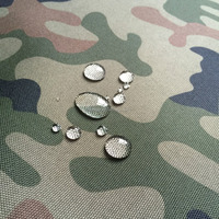 Waterproof 600D PVC Coating Military Camouflage