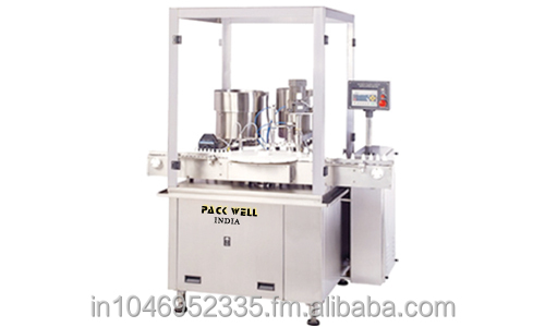 Automatic Eye And Ear Drop Block Machine.(Liquid Filling, Inner Plugging, screw capping machine)