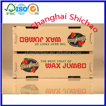 Back to Back complete fold corrugated costermonger or fruit gaine /Shanghai Shichao
