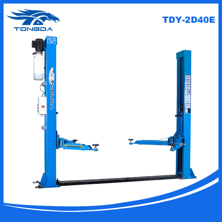 Tongda in ground car lift TDY-2D40E 2 arm part Two post car lifter