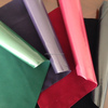 Pvc Flocking Faux Leather Fabric For