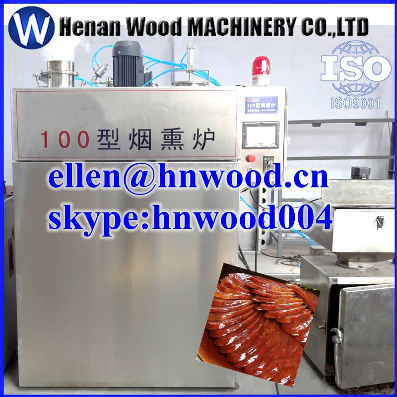 Meat and fish smoked furnace, meat smoking oven, sausage smoking house