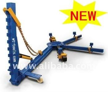 pull dozer frame machine