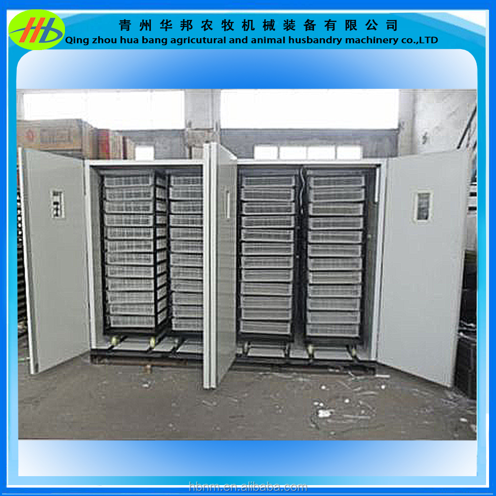 2016 amazing factory price 5280 automatic eggs incubator and hatcher for chicken