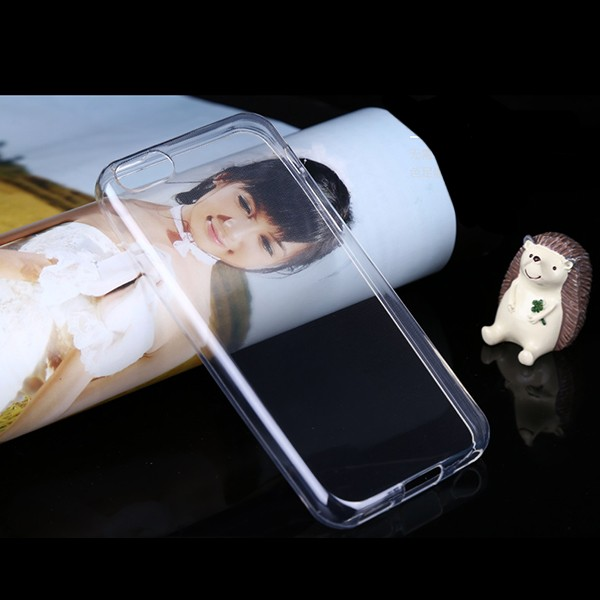 5C001 Ultra Thin 0.6mm Soft Clear TPU Case for iPhone 5C Mobile Phone Case Cover