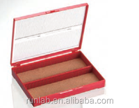 100-place Slide Microscope Storage Boxes