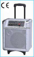 8 inch speaker box/ amplifier with speaker with fm/usb/sb