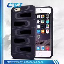 Factory price power case 2 in 1 durable case cover for iPhone 6 6s 6splus