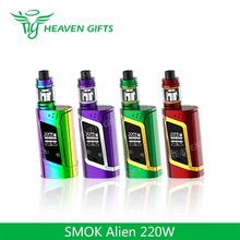 2017 Huge Stock 3ml/ 2ml TFV8 Baby 220W Smok tech Alien magic puff e-cigarettes