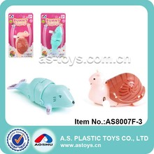 Top Selling Wind Up Mini Toy Animal Walking Dolphon & Snail Toys