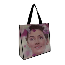 Wholesale high quality products cloth shopping foldable non woven bag with wheels