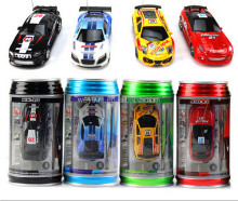 Mini Coke Can RC Radio Remote Control Micro Racing Car