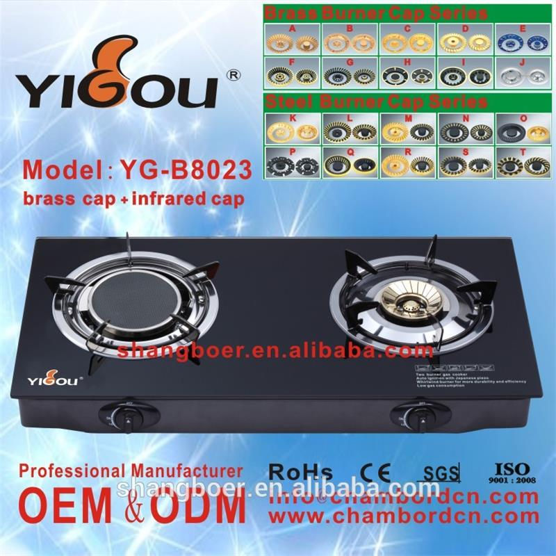 YG-B8023 kitchen appliance gas hob/ gas stove spare parts/ gas stoves for cooking