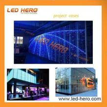 TRANSPARENT LED SCREEN FOR SHOPPING MALL, SHOWCASE, BUILDING