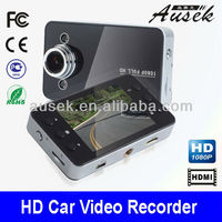 Full HD metal case car race video support G-sensor