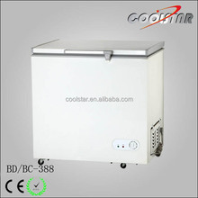 Deep top open chest type freezer