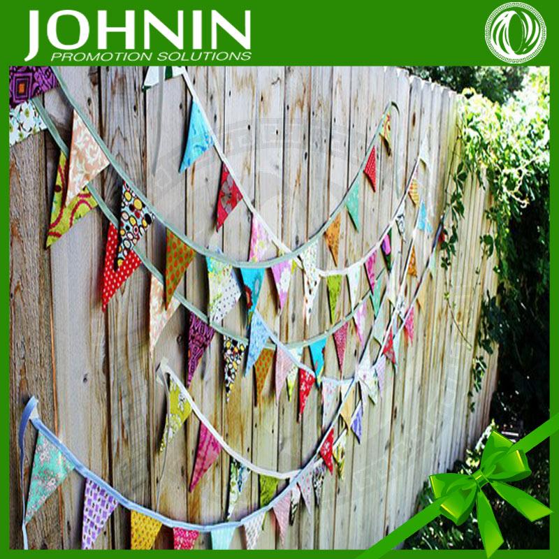 Custom Different Size Cheap Decorative Pennants