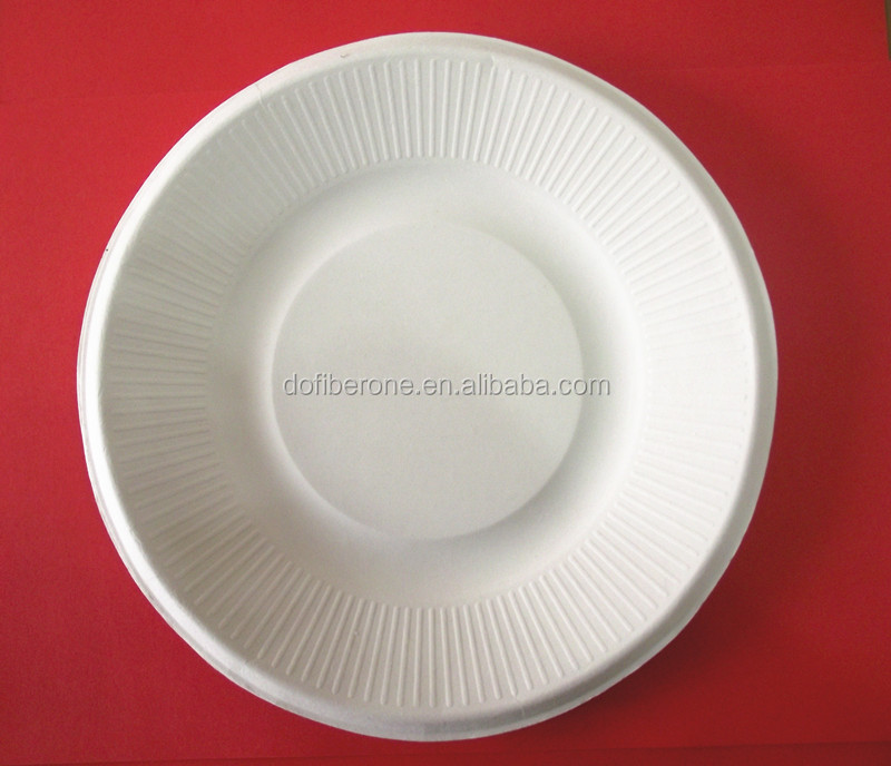 compostable party tableware made from wheat straw